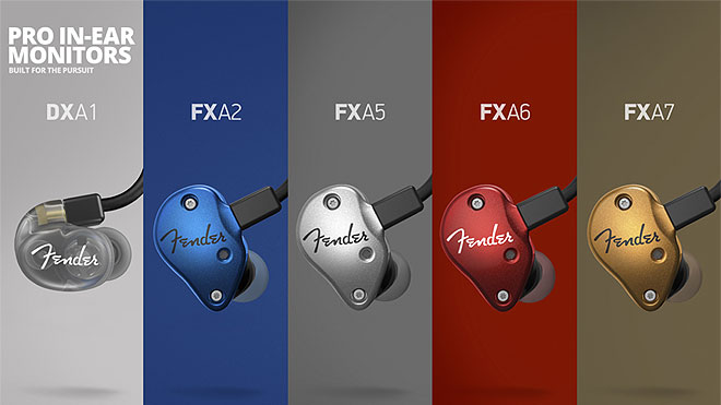Fender 5個全部