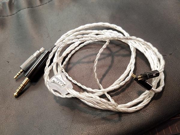 クリスタルケーブル4.4mm