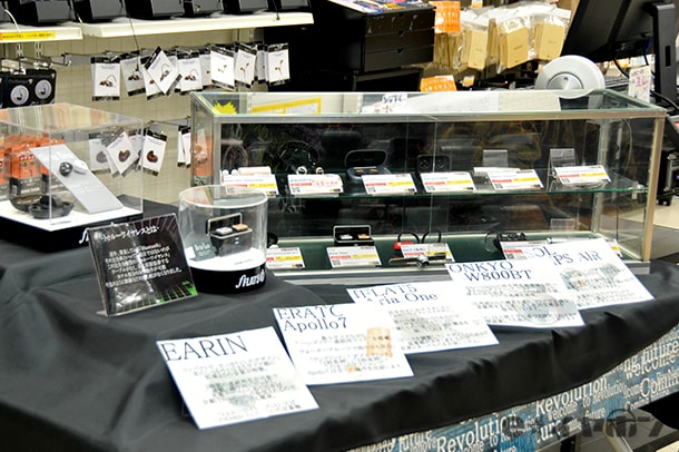 【大阪日本橋本店】こんなに種類があるのか!?全11種類!完全ワイヤレスイヤホンコーナー!