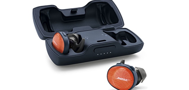 Bose SoundSport Free wireless headphones ブライトオレンジ