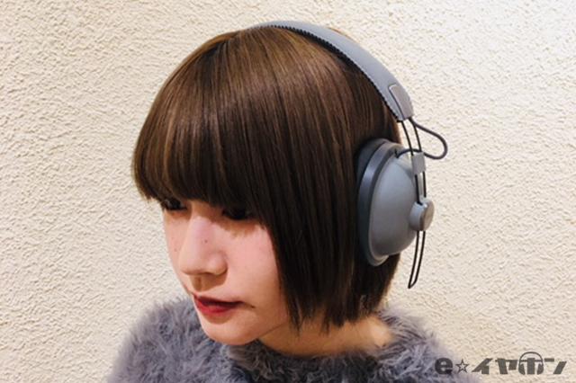 モデル:名古屋大須店 かがちゃん ヘッドホン:Panasonic RP-HTX80B-H クールグレー
