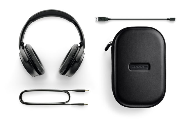 Bose QuietComfort35 wireless II BLK 付属品
