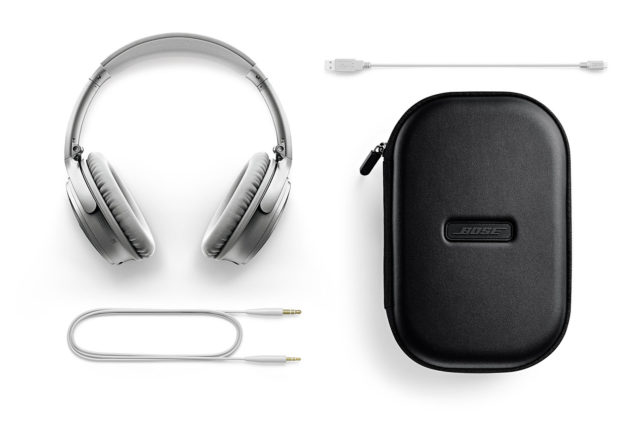 Bose QuietComfort35 wireless II SLV 付属品