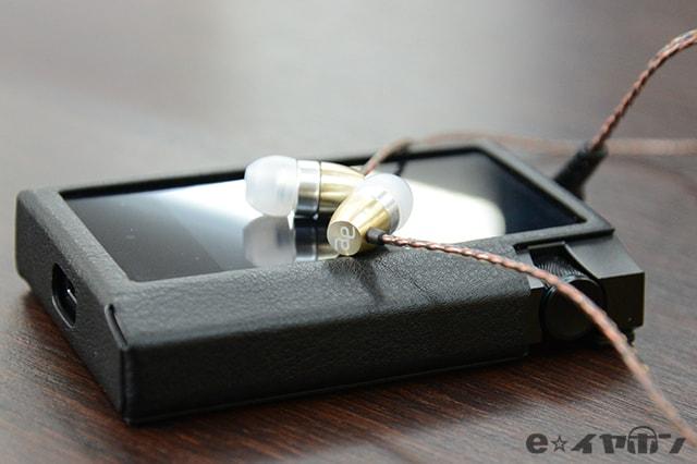 イヤホン:acoustic effect TRY-01 プレイヤー:AK70MKII