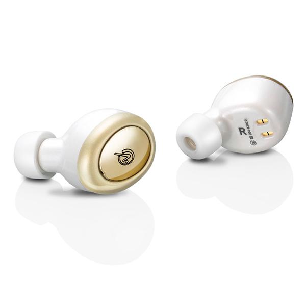 M-SOUNDS MS-TW2P ホワイト/ゴールド 【MS-TW2PWG】