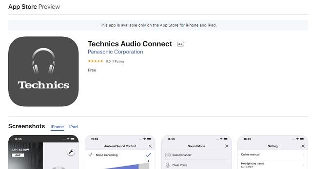 Technics Audio Connect