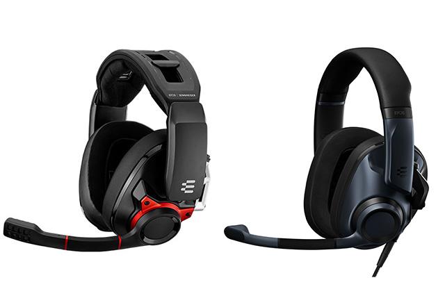 左:GSP 600  右:EPOS H6PRO